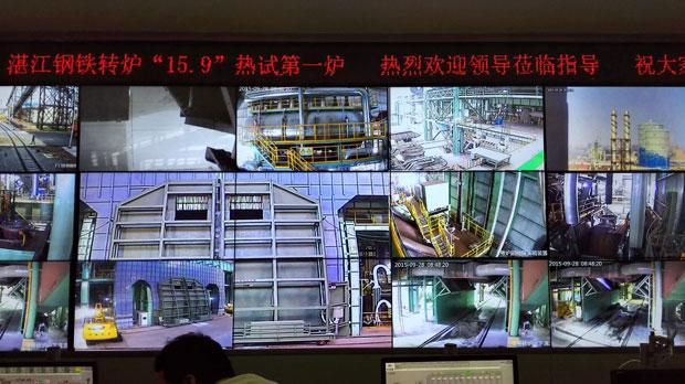 宝钢湛江350吨转炉氧枪投入使用1