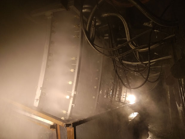 馬鋼方圓坯二次冷卻改造項目2