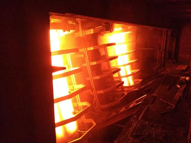 马钢方圆坯二次冷却改造项目5